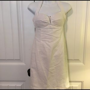 White sexy sassy dress by Muse Size 2